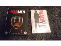 Mad men dvd season 2,3,4