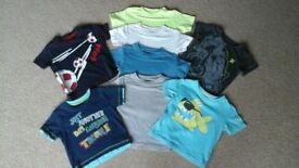 Boys T-Shirts Age 6-9 Months