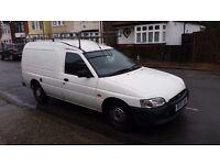 2001 FORD ESCORT 1.8TD 55 Panel Van 1753cc with LONG MOT