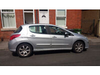 PEUGEOT 308 1.6 petrol. 2009 PANORAMIC SUNROOF ! Great condition - no reapirs needed07448297651