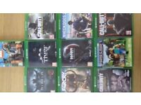 Xbox One games to sell singularly or Job Lot