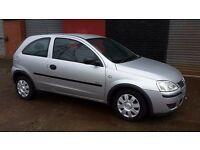 05 vauxhall corsa 1.0 LIFE 3 door hatchback 1 years mot WELL ABOVE AVERAGE FOR YEAR