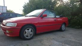 Ford Escort xr3i Cabriolet 130BHP Convertible - Classic Not xr2i xr3 RS Turbo GTE or e30 Rare