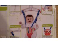 Baby Door Bouncer from 3 mths (Lindam Jump About Plus ) - £10