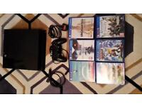 PLAYSTATION 4 PS4 with 6 TOP GAMES mint