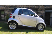 Silver Smart for Two Coupe Passion 12 months MOT, full Mercedez service history, excellent condition