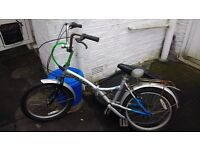 Fold up bike 45.00, Gosport bought last week second hand but too small for my son as he is 6'3''