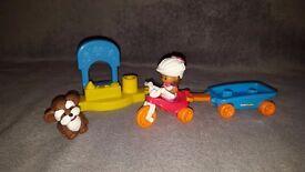 Little People Trike & Wagon