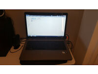 "HP G72 laptop 17.3"" screen 500GB HDD 4GB RAM 2.2Ghz Windows 7 Intel Pantium in very good condition"