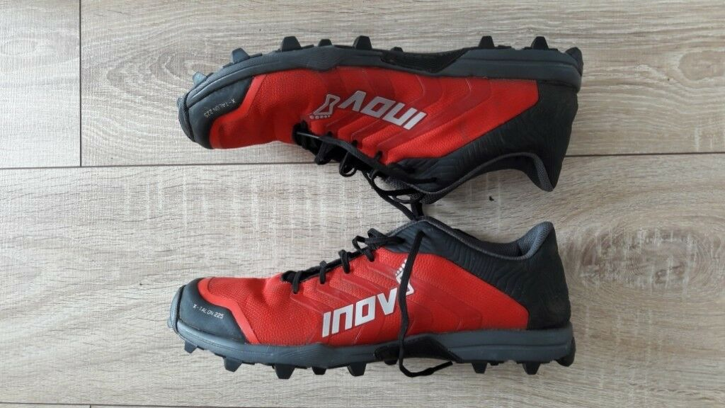 Now sold - INOV8 X-TALON 225 Trail Shoes UK size 7.5  a5db1ee06a1