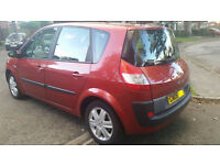 RENAULT SCENIC AUTOMATIC, 1.6, 59K, ELECTRIC WINDOWS, PAS, AIRBAG, COMPUTER DISPLAY