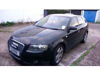 FOR SALE Audi A3 sportsback tdi Diesel 15500 MANUAL £1750 Ono Fsh Mot untill September 16