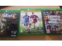 Xbox One (No Kinect) 3 games charging station and 1 controller £180 ono