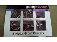 New - 6 metal brain busters