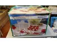 French Duralex 20 pcs service grill/barbecue