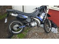 Yamaha dtr 125 1991 great condition , black, 10 months MOT ,dt r, suzuki ,aprilla wr ,yz