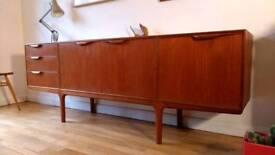 Vintage Retro Teak McIntosh Sideboard Cabinet Storage