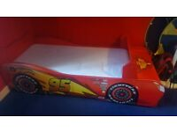 Lightning McQueen Cars bed