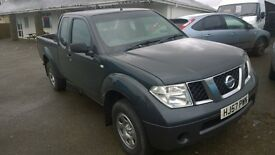 nissan navara crewcab trek, 2007 registration, 2.5 turbo diesel, covered only 105,000 miles