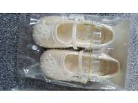 Childrens Wedding shoes size 6 & 7
