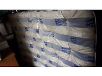 Double Bed Memory Foam Mattress Good Condition