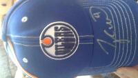 Signed Taylor Hall Hat.