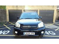 2004(LK04YPE)Toyota Rav-4 . Automatic. 79K Mileage Fully Loaded