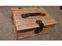 Willow Box Storage Solution Wicker chest storage 35 cm