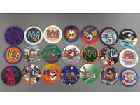 21 x Vintage Waddingtons 1994 and 1996, Series 1, 2 and limited edition Pog – post or collect