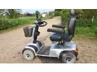Mobilty scooter invacare comet HD