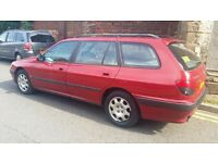 PEUGEOT 406 ESTATE 83,000 MILES LONG MOT EXCELLENT RUNNER IDEAL WORK CAR