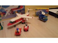 Plane and restaurant lego set