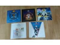 "10 x fish ( marillion ) rare singles 7"" / cds"