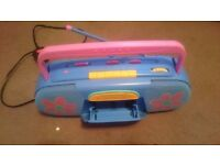Childs radio casette player
