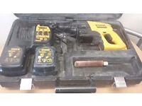 Dewalt 24v sds hammer drill