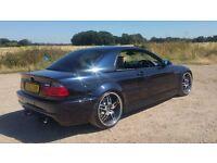 BMW E46 M3 SMG Convertible Modified (Carbon Black)