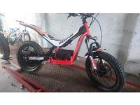 "oset 16"" trials bike"