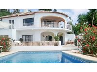 Traditional Villa on Costa Blanca: Sleeps 6, Private pool, Satellite TV, WIFI, close to beaches