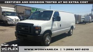 2014 Ford E-250 FOUR TO CHOOSE - OFF LEASE 1 OWNER 4.6L V8