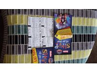 X6 alton towers tickets for 29th September 29/09 can split can post