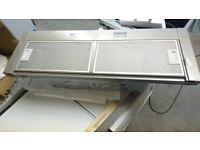 Siemens LI94MA530B 90cm Telescopic Canopy Cooker Hood Silver Metallic