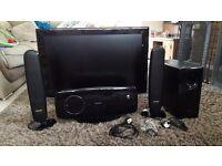 Samsung 32 inch TV & Surround Sound System
