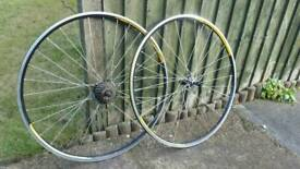 700c wheelset, 7 speed, wheels