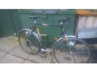 OLD EMMELLE BIKE 24 AND A HALF INCH FRAME , 700C TYRES NEEDS A GOOD CLEAN £40