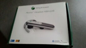 Sony Ericson Bluetooth Headset HBH-608... Compatible with Mobile Phones Equipped with Bluetooth.