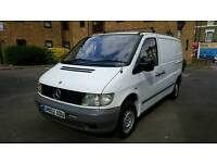 MERCEDES VITO FULL MOT WITH LEATHER SEATS 1 FORMER KEEPER