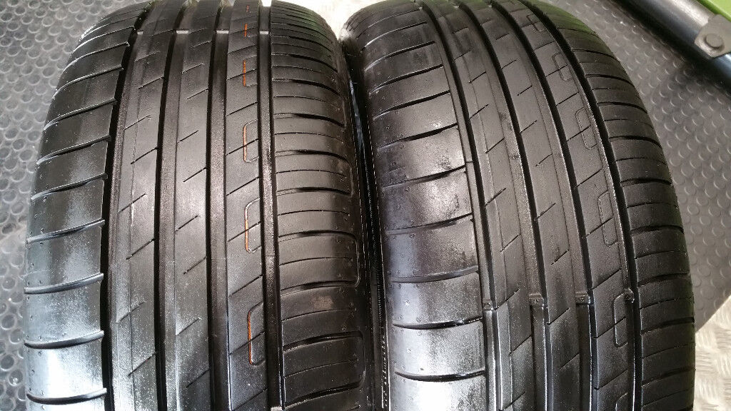 215 50 17 91W 2 x tyres Goodyear Efficient Grip Performance
