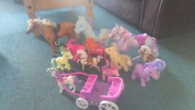 Selection of ponies.