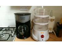Coffee maker&steamers