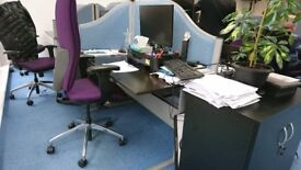 Office desks and Dividers to give away